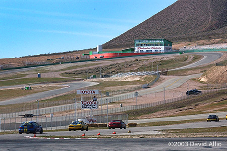 Willow Springs International Raceway Rosamond California 2003