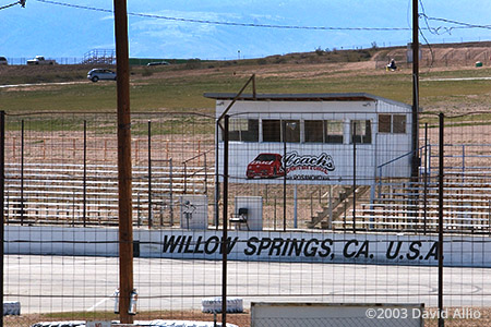 Willow Springs Speedway Rosamond California 2003