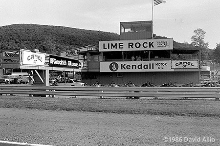 Lime Rock Park Lime Rock Connecticut 1986