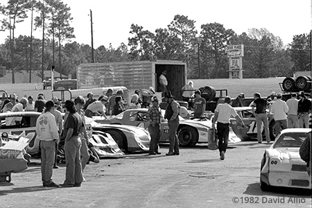 Five Flags Speedway Pensacola Florida 1982