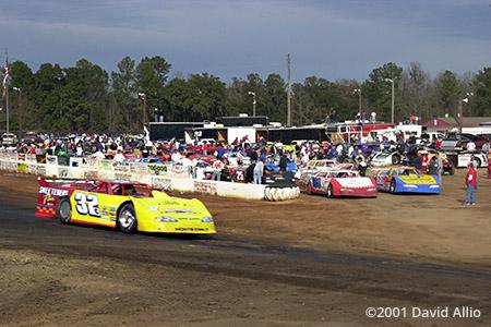 Golden Isles Speedway Waynesville Georgia 2001