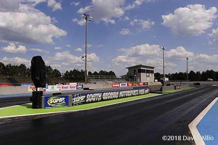South Georgia Motorsports Park drag strip Adel Georgia 2018