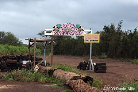 Paradise Speedway Kihei Maui Hawaii 2003