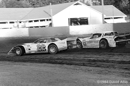 Eldon Fairgrounds Raceway Eldon Iowa 1984