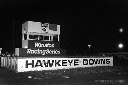 Hawkeye Downs Speedway Cedar Rapids Iowa 1983