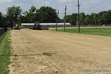 Clark County Speedway Clark County Fairgrounds Marshall Illinois dirt oval 2021
