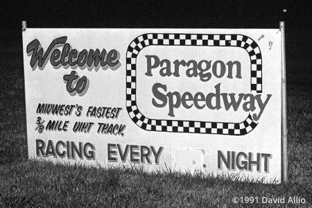 Paragon Speedway Paragon Indiana 1991