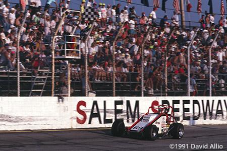 Salem Super Speedway Salem Indiana 1991