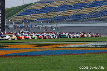 Kentucky Speedway Sparta Kentucky 2003