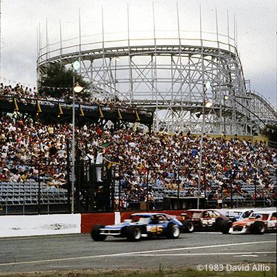 Riverside Park Speedway Agawam Massachusetts 1983