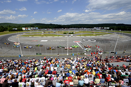 Oxford Plains Speedway Oxford Maine 2012