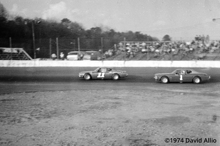 Asheville Speedway Asheville North Carolina 1974