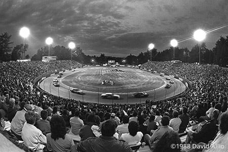 Bowman Gray Stadium Winston-Salem North Carolina short track paved oval 1988