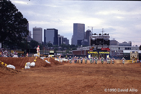 Charlotte Memorial Stadium Charlotte North Carolina 1990