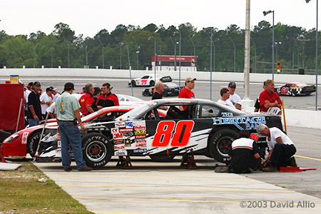 Coastal Plains Raceway Jacksonville North Carolina 2003