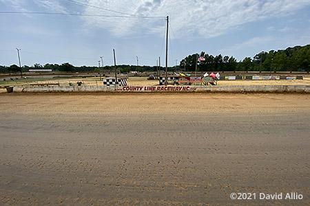 County Line Raceway Elm City North Carolina short track dirt oval 2021