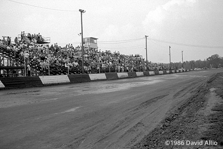 Dixieland Speedway Elizabeth City North Carolina 1986