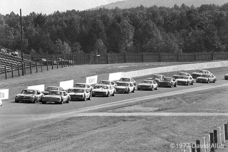 North Wilkesboro Speedway North Wilkesboro North Carolina 1977
