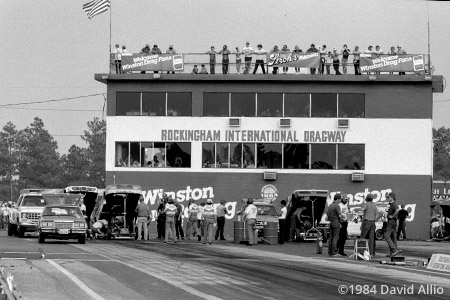 Rockingham International Dragway Rockingham North Carolina 1984