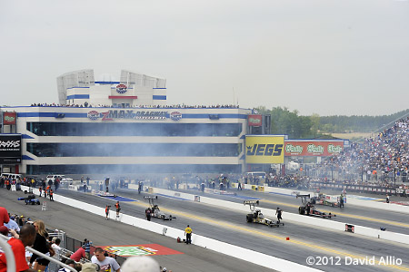 ZMax Dragway Concord North Carolina 2012