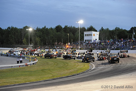 Lee Speedway Lee New Hampshire 2012
