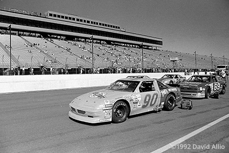 New Hampshire International Speedway Louden New Hampshire 1992