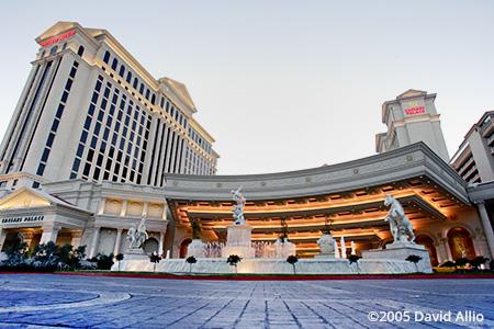 Caesars Palace Street Course Las Vegas Nevada 2005