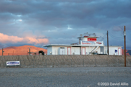 Pahrump Valley Speedway Pahrump Nevada 2003