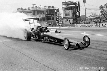 National Trail Dragway Newark Ohio 1984