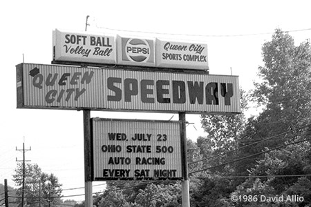 Queen City Speedway West Chester Ohio 1986