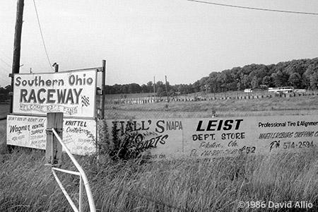 Sandusky Speedway Sandusky Ohio 1988