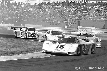 Portland International Raceway Portland Oregon 1985