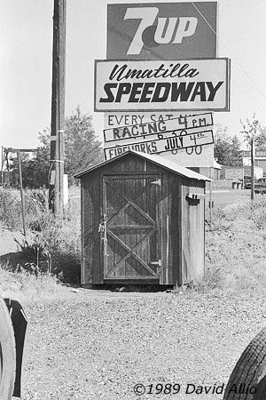 Umatilla Speedway Hermiston Oregon 1989