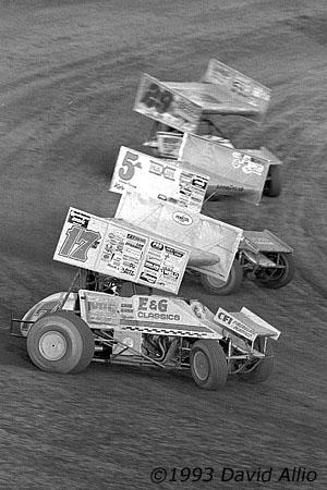 Lernerville Speedway Sarver Pennsylvania 1993