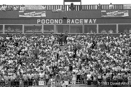 Pocono Raceway Long Pond Pennsylvania 1983