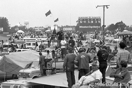 Darlington Raceway Darlington South Carolina 1986