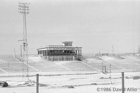 Black Hills Speedway Rapid City South Dakota 1986