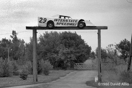 Interstate Speedway Jefferson South Dakota 1986