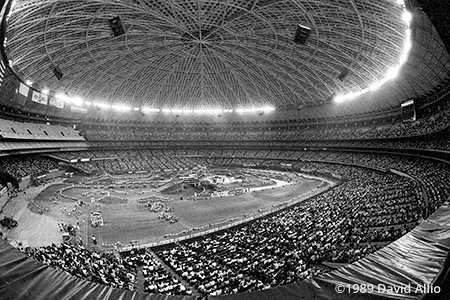 Houston Astrodome Houston Texas 1989