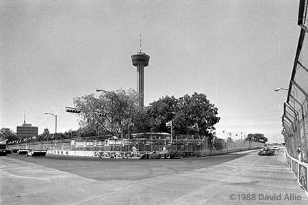 San Antonio Street Course San Antonio Texas 1985