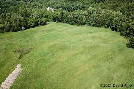 Blue Diamond Race Track Wise County Addington Virginia five turn dirt track aerial photograph 2021