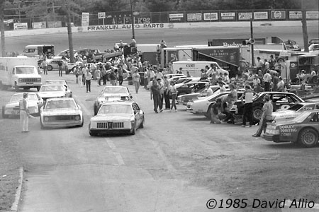 Franklin County Speedway Callaway Virginia 1985