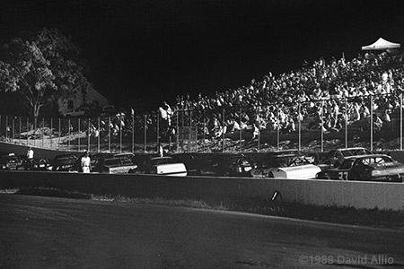 Pulaski County Speedway Dublin Virginia 1988