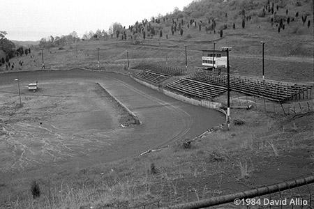 Thunder Mountain Speedway Cedar Bluff Virginia short track dirt oval 1984