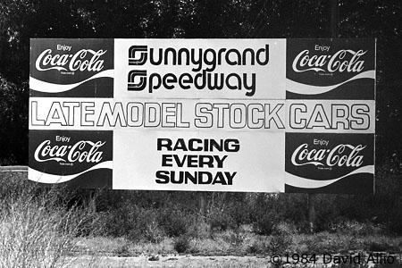 Sunnygrand Speedway Sunnyside Washington 1987